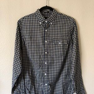 Jcrew cotton button-up shirt